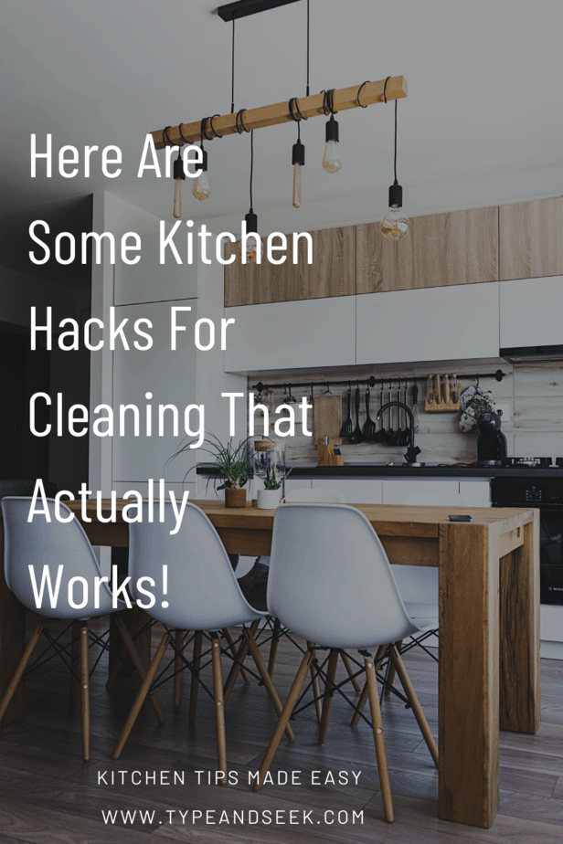 Here Are Some Kitchen Hacks For Cleaning That Actually Works!